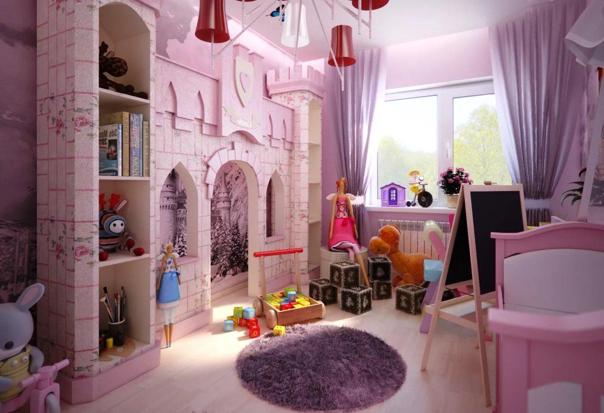 Поздравления, картинки комнаты для детей девочек