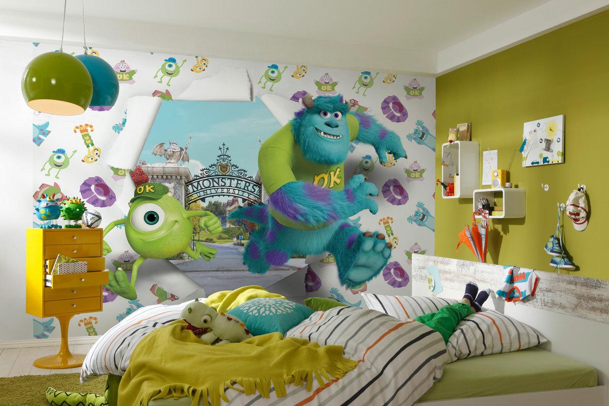 Детские 3д картинки на стену